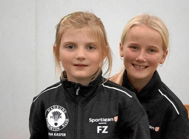 Også Anna og Anna havde en rigtig herlig tur til Rosendal. Foto: Michael Søndergaard-