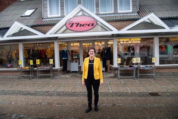 i 1986 overtog Thea Gravesen butikken og gav den havnet Hos Thea. Foto: Diana Holm @ Diana Holm