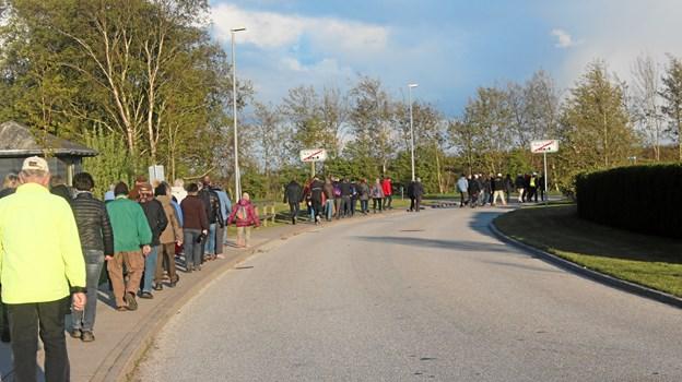 Videre på tur øst for Nørhalne.Privatfoto