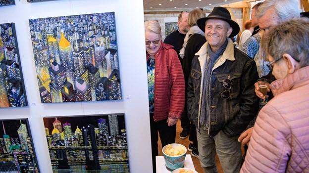 Udstillingen har fået meget ros for, at den havde så mange forskellige kunstværker med. Foto: Bo Lehm