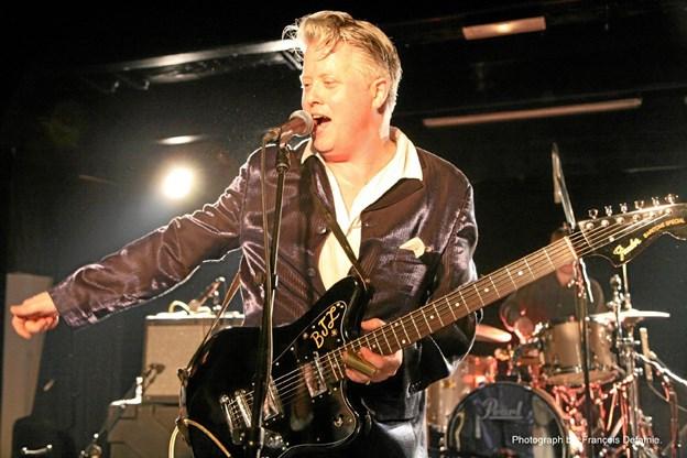Det er Englands Power-vokal nummer 1, der går på scenen på Kappelborg, fredag 8. marts.PR - foto PR - foto