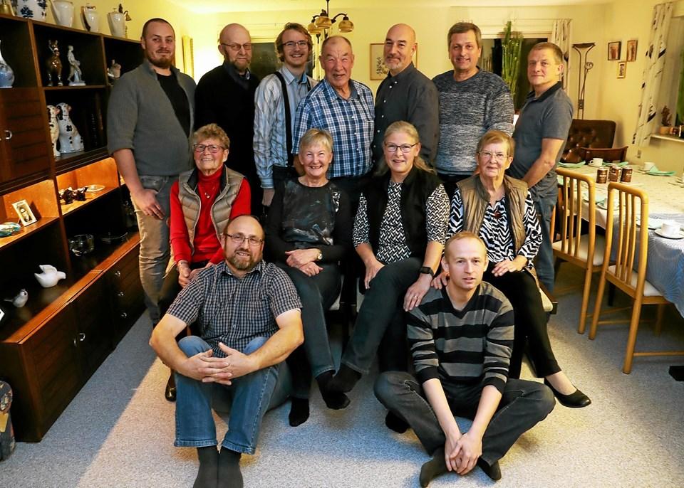 Udøverne var onsdag samlet til julehygge og overrækkelse. Foto: Allan Mortensen