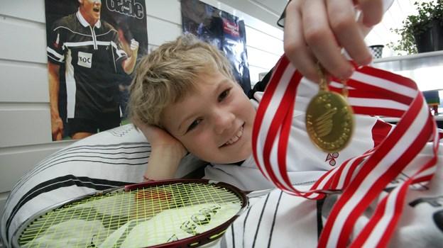 Victor Svendsen havde allerede tidligt i karrieren smag for at vinde - her er vi tilbage i 2006 ...Arkivfoto: Bente Poder