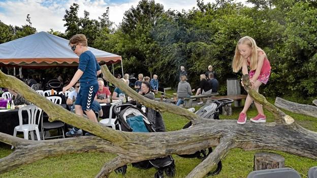 Legeplads til børnene i Parken. Foto: Kristian Amby Ole Iversen