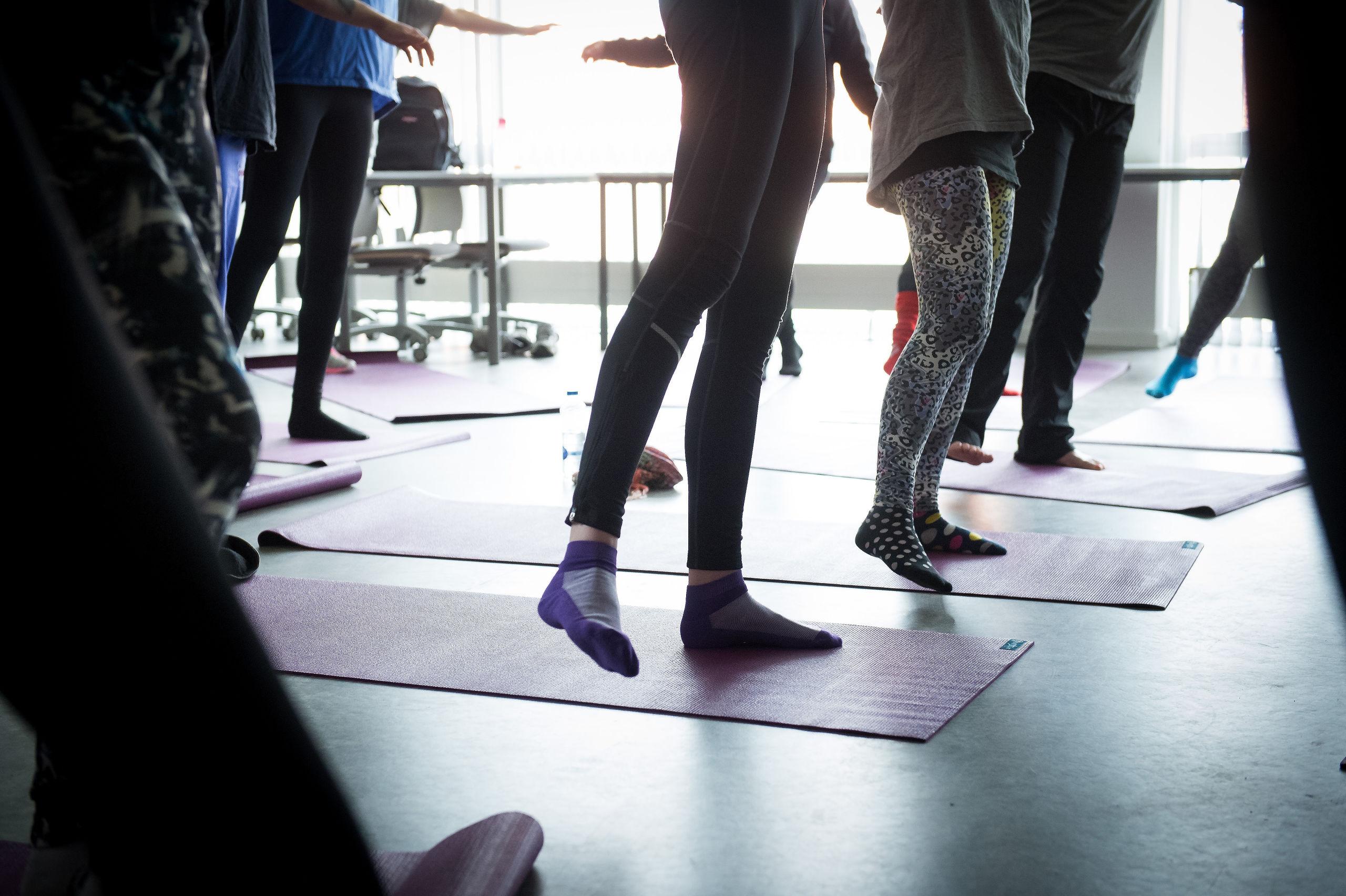 Du kan komme til event med yoga, shopping og gin. Arkivfoto: Bo Lehm