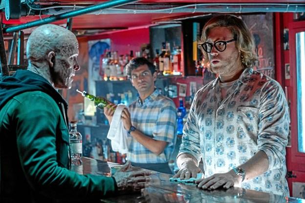 Et scenebillede fra Deadpool 2.