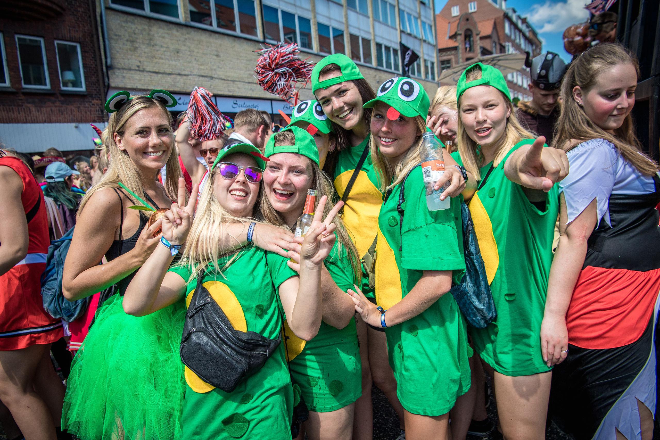 Karneval har vokseværk i disse år - og meget skal gå galt, hvis ikke versionen anno 2019 bliver årets fest. Arkivfoto: Martin Damgård