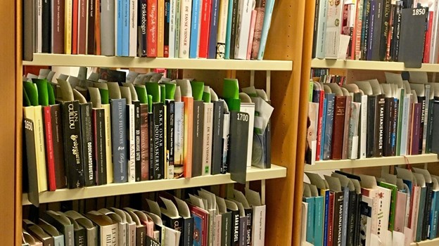 Man har fremover kun syv dage til at afhente bestilte materialer på bibliotekerne i Brønderslev Kommune.Privatfoto