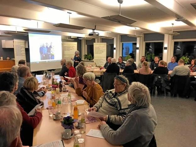 Hjerneskadeforeningen Himmerlands generalforsamling blev holdt på Neurocenter Østerskoven i Hobro. Privatfoto
