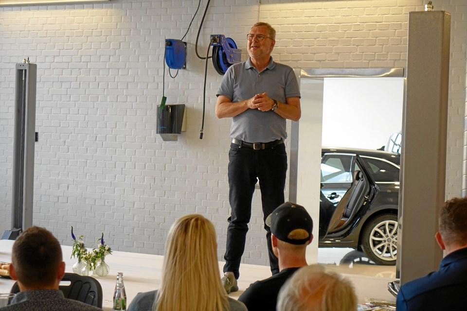 Mikkel Thomsager, chefredaktør på Bilmagasinet.