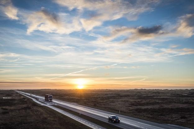 Så er der nyt om en 2+1 forbindelse mellem Skagen og Aalbæk.Arkivfoto: Martin Damgård