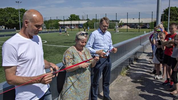 Jerslev fik tidligere i 2018 en multipark, men hvordan skal området udvikle sig i fremtiden. Kom til debat tirsdag 15. januar i Jerslev Forsamlingshus.Foto: Kurt Bering