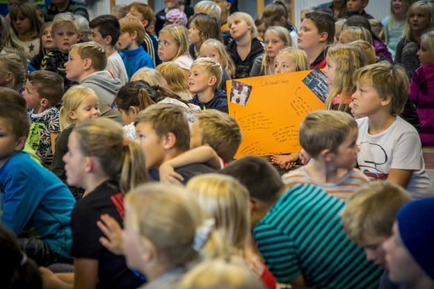 I undersøgelsen har hver fjerde elev i 8. klasse svaret, at de tit eller altid har for meget at se til.  Arkivfoto: Martin Damgård