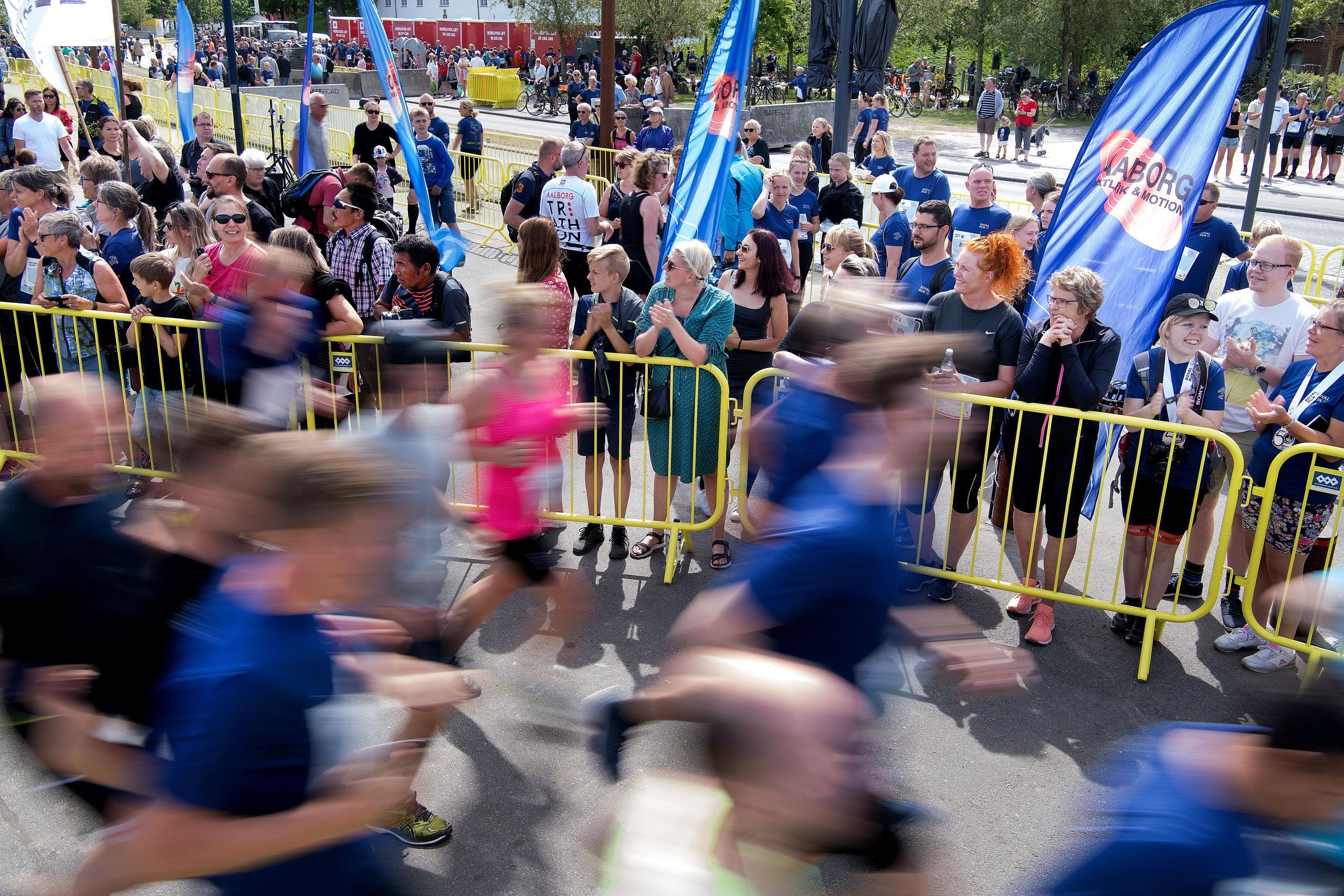 Royal Run er yderst populært - og byens kirker vil også gerne bakke op om arrangementet. Arkivfoto: Torben Hansen