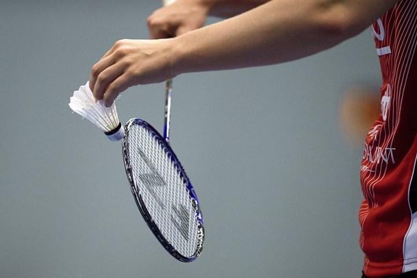 Spændende badmintonturnering i idrætscentret