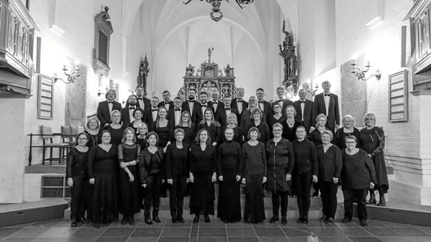 Filharmonisk kor, Aalborg, giver 15. januar nytårskoncert i Aarestrup Kirke. Privatfoto