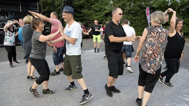 Kom og Dans ved et tidligere arrangement.Arkivfoto: Lars Pauli