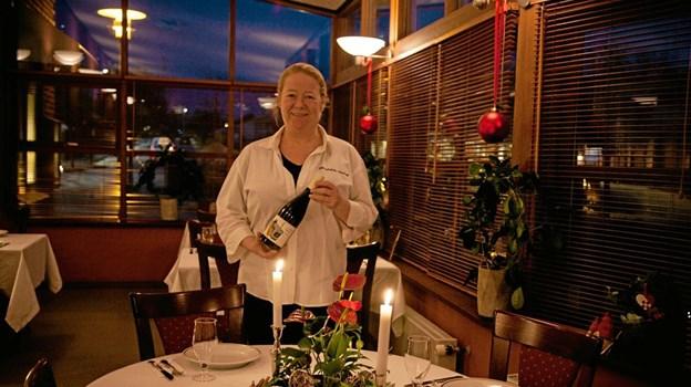 Stine Bilstrup skal fremover stå for den daglige betjening af gæsterne, og drift af restauranten. Foto: Peter Jørgensen