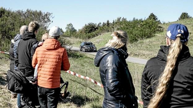 Hill Climb Rally i Tolnes kuperede terræn. Foto: Peter Jørgensen