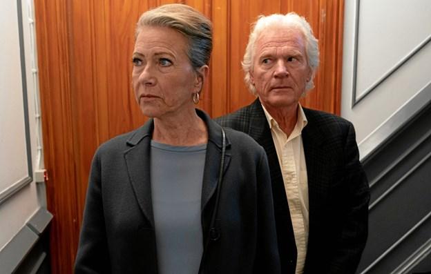 Birthe Neumann og Kurt Ravn i Happy Ending. Rolf Konow