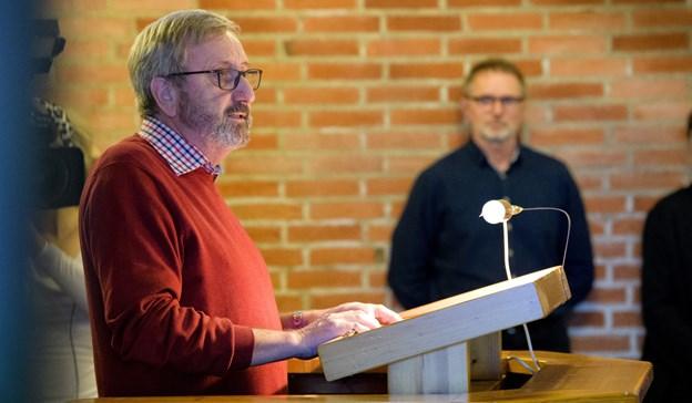 Svend Erik Jørgensen og resten af bestyrelsen glæder sig over ansættelsen af det nye forstanderpar. Arkivfoto.