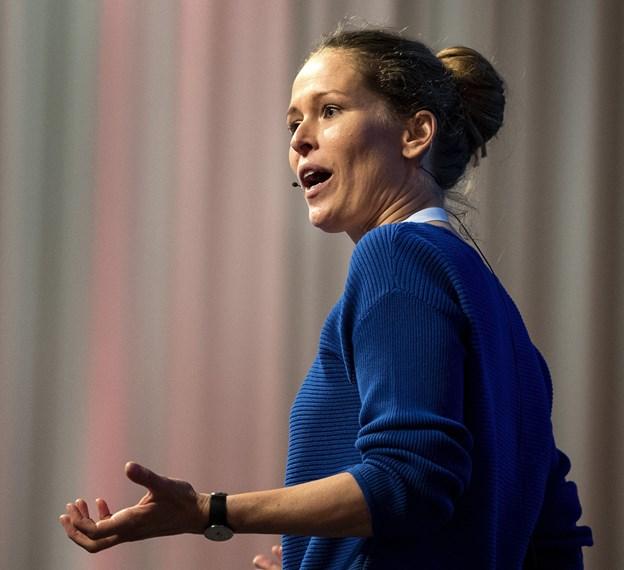 Chefredaktør Lea Korsgaard, Zetland vil være med til at styre Zenit scenen. Foto: Bente Poder