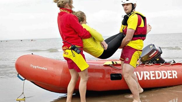 TrygFonden Kystlivrednings testpatrulje kommer hele sæsonen på uanmeldt besøg på ca. 20 strande og havnebade om ugen.