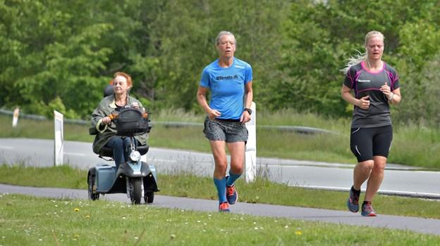 Vejret var rigtigt godt til løb.Foto: Claus Søndberg Claus Søndberg