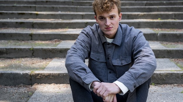 Thomas Blum bor i Aalborg og har netop udgivet sin første single 'Et bedre sted'. Foto: Lasse Sand