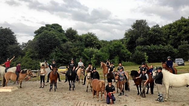 Mariager Rideklub - holder til daglig til på Havndalvej. Privatfoto