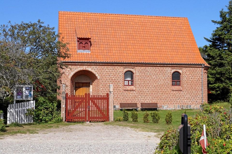 12. april er der foredrag om Rødhus Kirke.  Privatfoto
