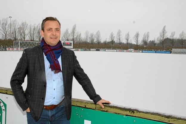 Formand Bøje Holmsgaard Lundtoft er glad for at projekterne endelig kan føres ud i livet. Foto: Flemming Dahl Jensen