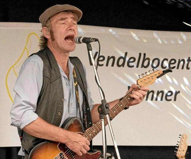 Ole Gas giver den gas med Kim Larsen sange. Foto: Niels Helver Niels Helver