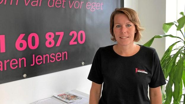 Karen Petersen lægger meget vægt på, at de ansatte skal kunne køre ud hjemmefra og helst direkte ud til kunden.