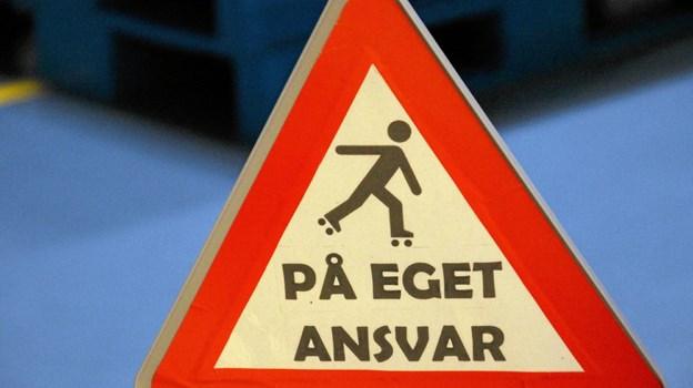 Alt foregik på eget ansvar. Foto: Hans B. Henriksen Hans B. Henriksen