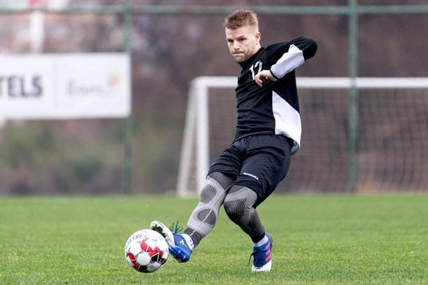 Jammerbugt FC lejer Allan Høvenhoff fra Vendsyssel FF. Foto: Torben Hansen