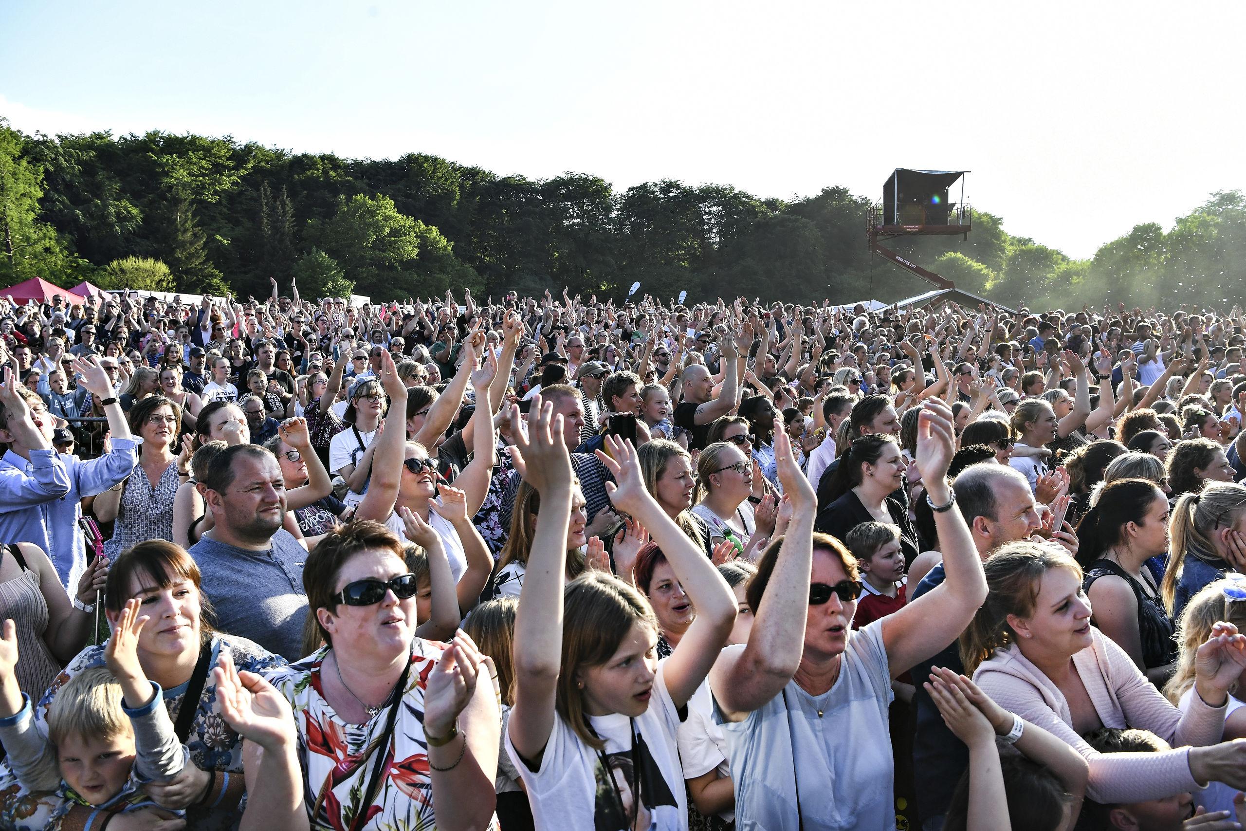 Koncerten med Maroon 5 blev udsolgt på rekordtid. Arkivfoto: Bent Bach