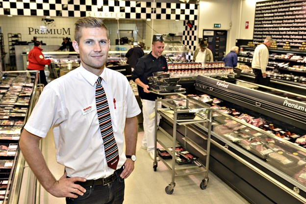 Christian Dam tiltrådte stillingen som varehuschef i Kvickly i Metropol i 2016. Fra 25. februar overtager han ledelsen i Meny Hjørring. Arkivfoto: Bent Bach