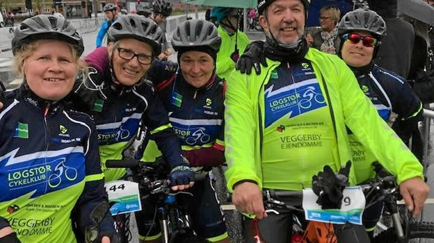 Nu skal cykeltøjet i Løgstør Cykelklub skiftes ud. Privatfoto
