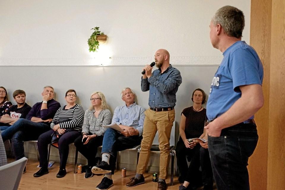 Anders Birnbaum efterlyser, at flere under 50 år tager ansvar og deltager i fællesskabet. Foto: Niels Helver Niels Helver