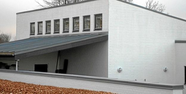 Menighedslokalerne ved Gistrup kirke bliver i januar og februar måned rammen om tre møder om tro, religion og kristendom. Foto: Kjeld Mølbæk