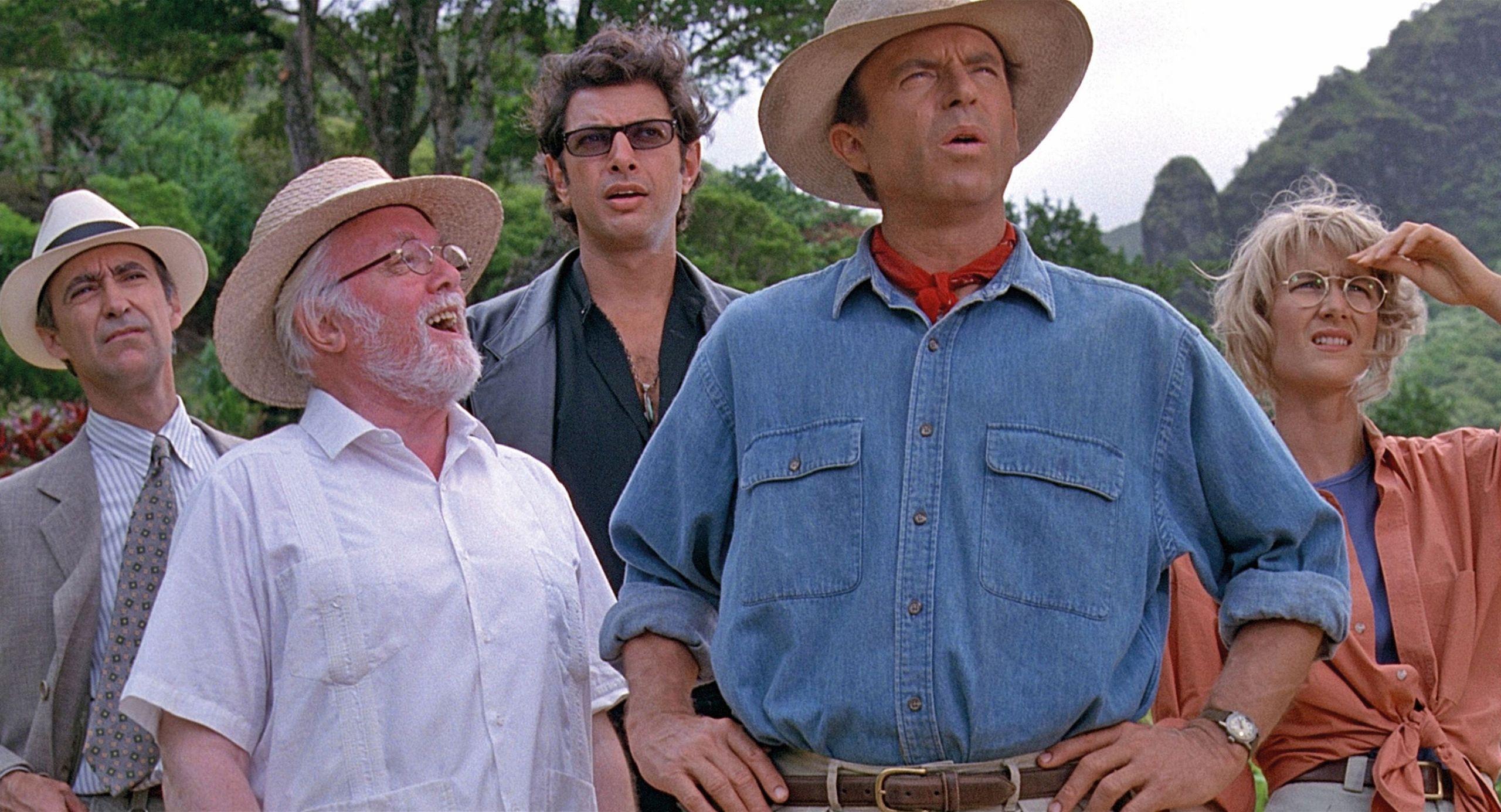 I Steven Spielbergs filmklassiker 'Jurassic Park' fra 1993 udfoldes kaosteorien af matematikeren Ian Malcolm, der afviser, at det er muligt at have kontrol med opdræt af dinosaurer. Han får ret. Foto: PR Foto Universal
