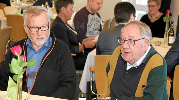 Tidligere byrådsmedlemmer var også til stede blandt - andet Erik Ingerslev og Ejler Winkler. Foto: Flemming Dahl Jensen Flemming Dahl Jensen