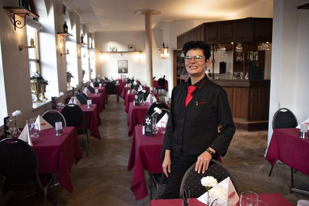 Bettina Sørensen er ny hoteldirektør på Hotel Phønix i Brønderslev.Foto: Kurt Bering