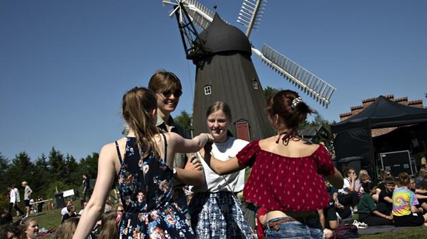 Igen i år vil unge strømme til Bælum Mølle for at deltage i musikfestivalen Aftryk, hvor kopimusik er bandlyst. Arkivfoto: Kurt Bering