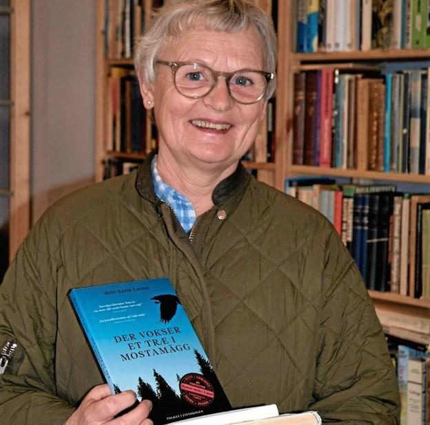 Marianne Fog, Skørping, vandt konkurrencen om signerede bøger af årets forfattere på Ord i Nord. Privatfoto