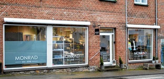 Monrad bliver på Jyllandsgade 22 - navnet bliver ændret til Stilkompagniet. Foto: Jesper Bøss Jesper Bøss