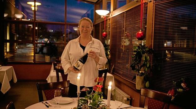 Stine Bilstrup skal fremover stå for den daglige betjening af gæsterne, og drift af restauranten. ?Foto: Peter Jørgensen