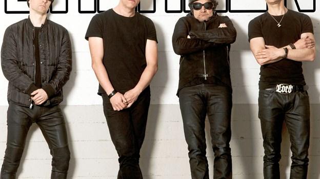 Die Herren - fortolker U2-sange i Aars sidst i marts. PR-foto