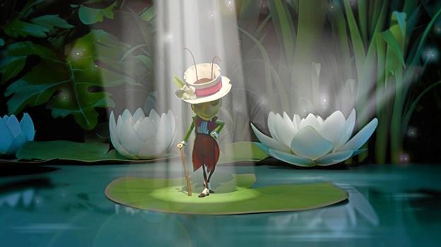 Fårekyllingen Apollo er hovedpersonen og helten i animationsfilmen Honning Margrethe og Eventyrhaven. Hans Jørgen Callesen